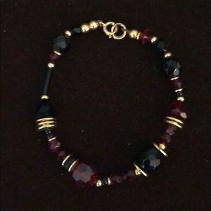 Allen Owen crystal bracelet